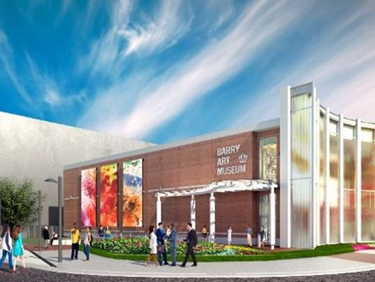 ODU - Barry Art Museum (rendering)