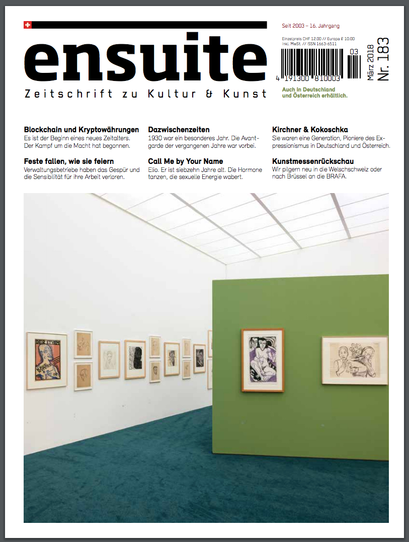 Ensuite Cover - 2018 March